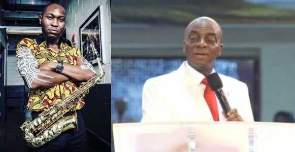 """""""You can be 'dangerously rich' doesn't mean you can buy enough knowledge"""" - Seun Kuti responds to Bishop David Oyedepo"""