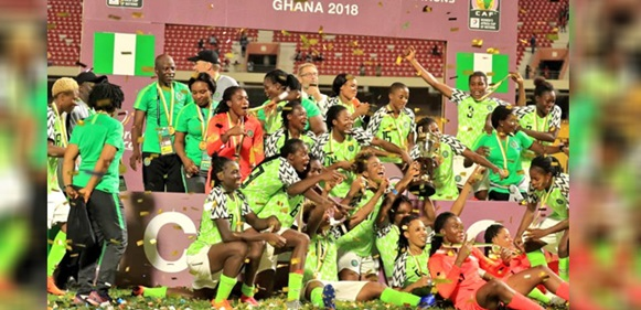 Nigerian Super Falcons Beat South Africa to with 2018 AWCON