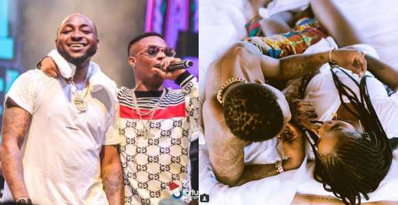 """Wizkid shades Davido after his crew listed reasons """"Assurance"""" is better than """"Fever"""""""
