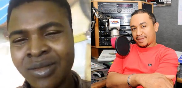 """""""If you don't want to die untimely, stop attacking men of God"""" — Nigerian man warns Daddy Freeze, he reacts"""
