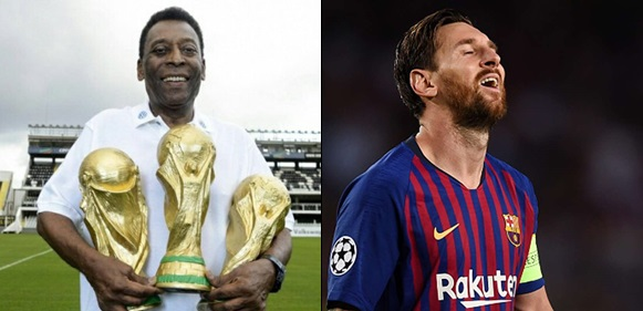 Lionel Messi only has one skill, I am far better – Brazil legend Pele says