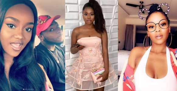 Chioma supports Davido as his baby mamas snub him on his 26th birthday