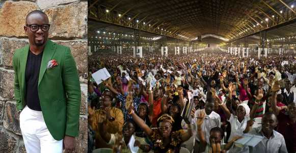 'God has become powerless that the Nigerian church-goers always want to fight his battles' - Fashion designer Uche Nnaji says