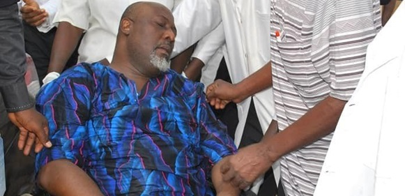 Dino Melaye speaks from police custody