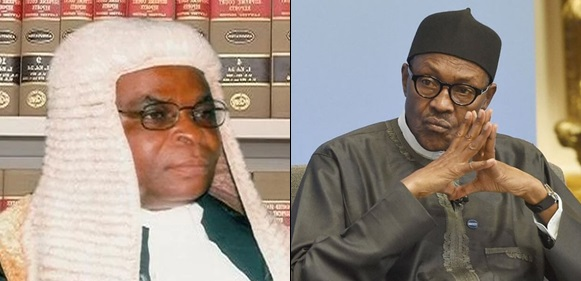 Buhari Govt Orders CJN Onnoghen To Vacate Office, To Arraign Him On Criminal Charges