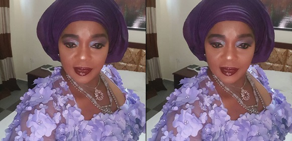 Who are you to complain about my makeup when my husband doesn't - Rita Edochie fires back at fans criticising her look
