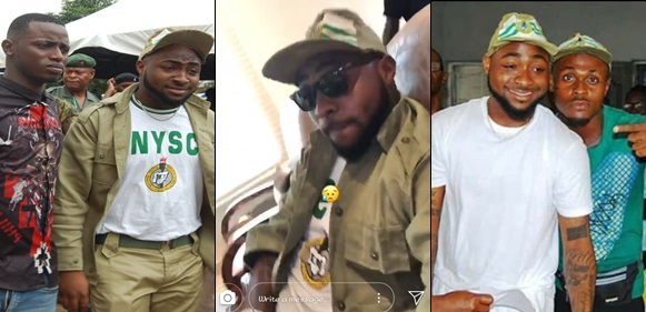 NYSC Sanctions Davido for Violated Many of the Scheme's Rules