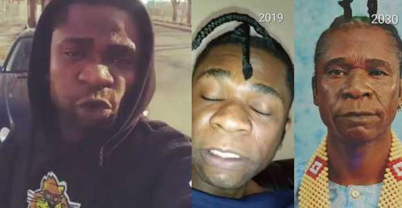 ''Please pray for me to leave marijuana alone' - Speed Darlington cries for help