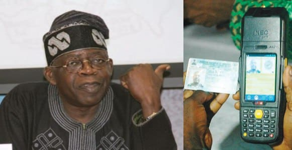 #NigeriaDecides2019: Tinubu speaks on owning company that creates PVC, and Card Readers