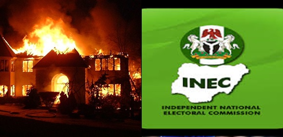 Fire engulfs INEC office few days to general elections