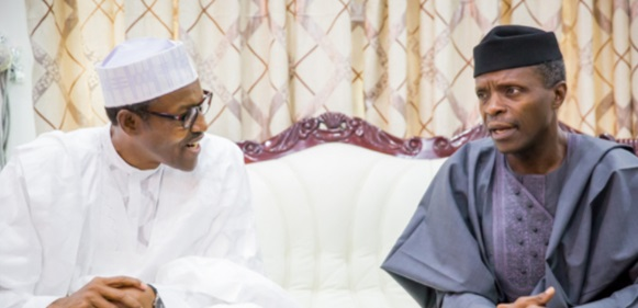 Buhari's open letter to Osinbajo following helicopter crash
