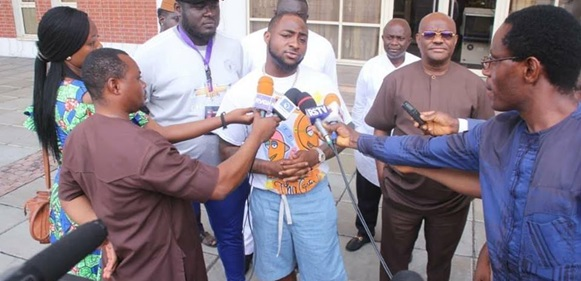 I Will Work For Governor Wike's Re-Election – Davido