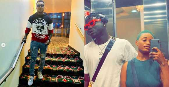 KingTblack calls out singer, Oritsefemi for flirting with his bae