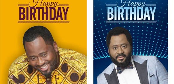 'I Am Blessed' Desmond Elliot Declares As He Celebrates 45th Birthday With Adorable Photos