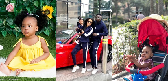 Yomi Casual, wife share adorable photos as daughter turns one