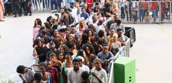Big Brother Naija 2019: Fight breaks out at Lagos, Abuja audition centers