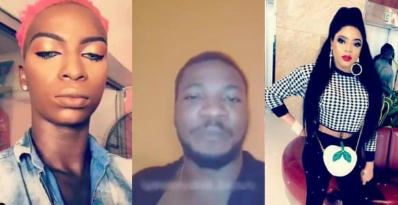 Bobrisky rewards man with ₦200K for blasting JP Blush who said he has body odour (Video)