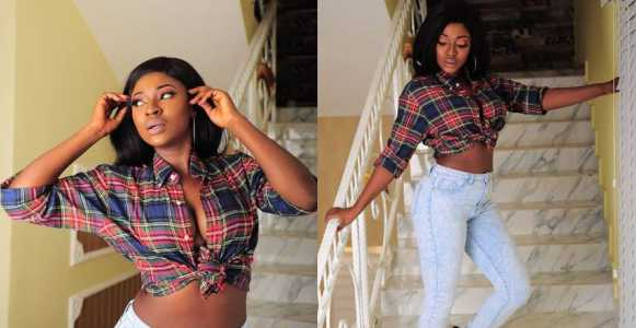 'Confidence is walking into a room and not having to compare yourself with anyone else' - Yvonne Jegede writes as she shares sexy photo