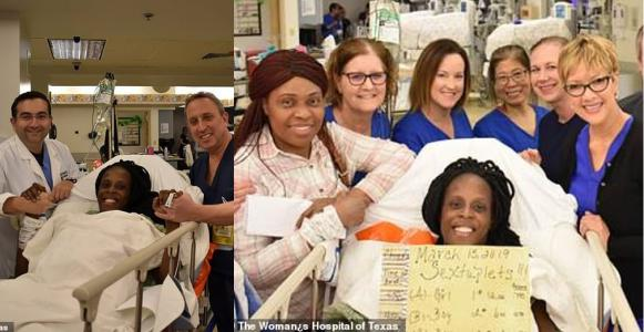 Nigerian woman delivers sextuplets in just 9 minutes (Photos)