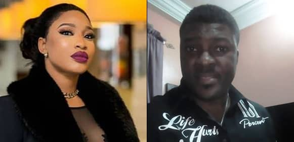 Man Calls Out Tonto Dikeh's Foundation For Being Fake