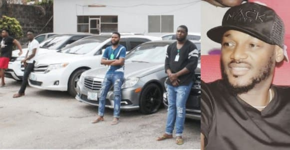 2face shows support for yahoo boys