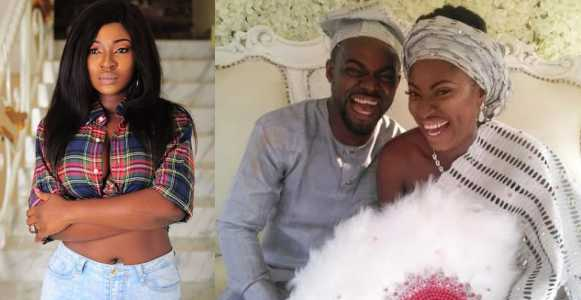 Actress Yvonne Jegede gets rid of her estranged husband's surname from her IG handle