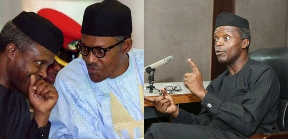 Buhari is 'perhaps poorer than he was in 2015' – Osinbajo, says he is richer than the president