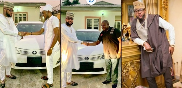 E-Money Gives Out Brand New Toyota Cars As He Marks His Birthday