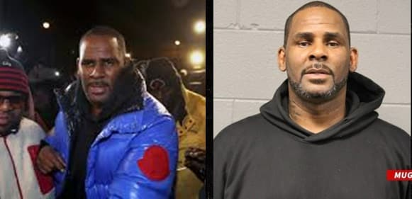 R.Kelly's mugshot released after s3xual abuse arrest