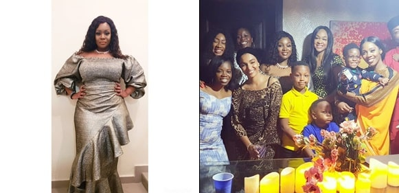 OAP Toolz shares lovely photos from the dedication of her son