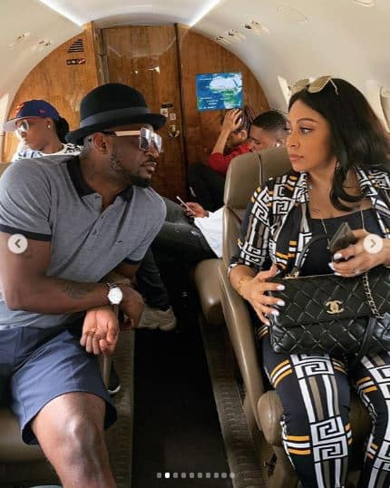 Peter Okoye celebrates his wife Lola on her birthday